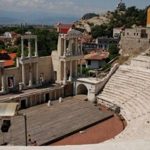 Das römische Theater im Plovdiv