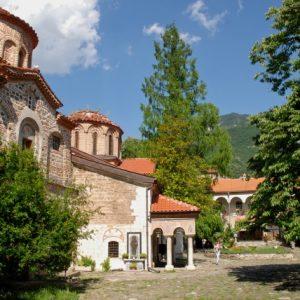 Das Batschkovokloster von außen