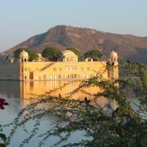 Wasserpalast in Jaipur