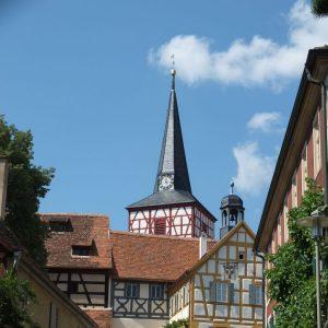 Die Kirchenburg Mönchsondheim