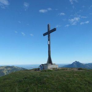 Gipfelkreuz auf dem Riedbergerhorn