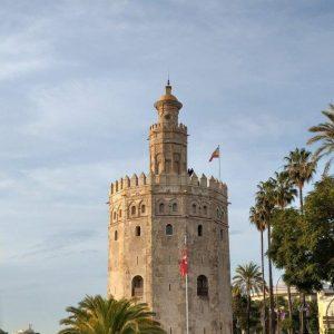 Der maurische Turm Torre del Oro