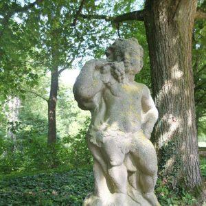 Puto im Garten der Würzburger Residenz