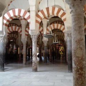Das Innere der Moschee-Kathedrale in Cordoba