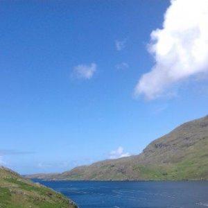 Blick auf den Killary Fjord