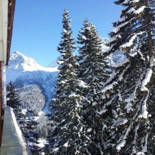 Blick aus dem Hotel Blatter´s Bella Vista