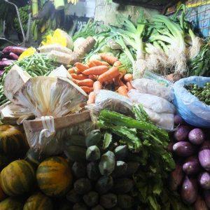 Gemüse auf dem Markt von Colombo