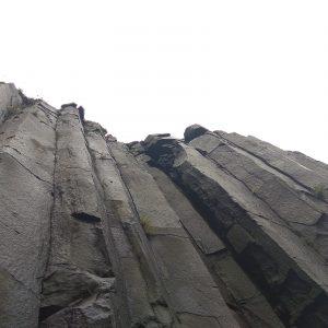 Basaltsäulenwand