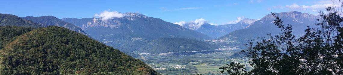 Bergpanorama im Valsugana