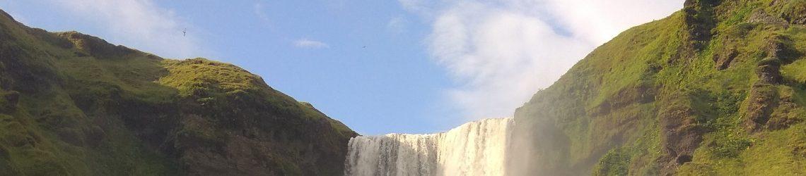 Wasserfall Skogarfoss