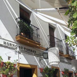 Blumengasse in Cordoba