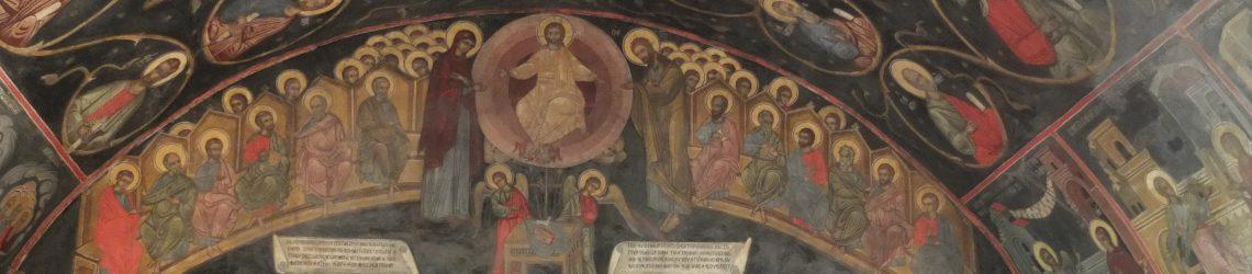 Wandmalereien im Kloster von Batschkovo