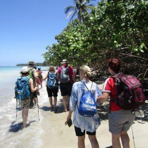 Am Karibikstrand von Cahuita