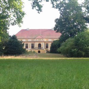 Schloss in den Parkanlagen von Petzow