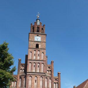 Das Rathaus in Brandenburg an der Havel