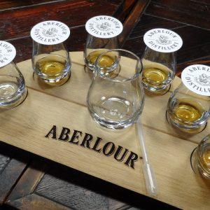 Whisky-Verkostung in der Abelour Distillery