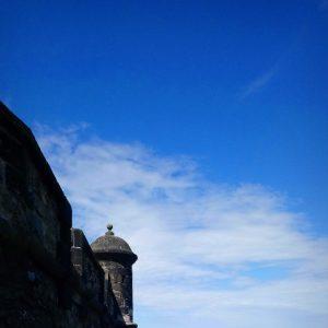 Blick vom Edinburgh Castle auf die Stadt