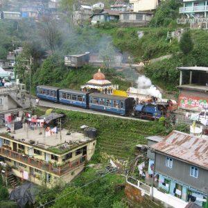Die Schmalspurbahn von Darjeeling