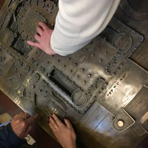 taktiles Umrissmodell der Sagrada Familia
