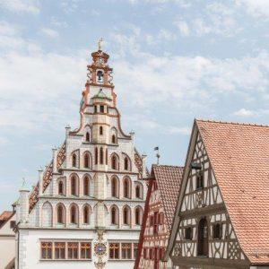 Das historische Rathaus von Bad Waldsee