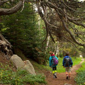 Wanderer im Nationalpark Aigüestortes