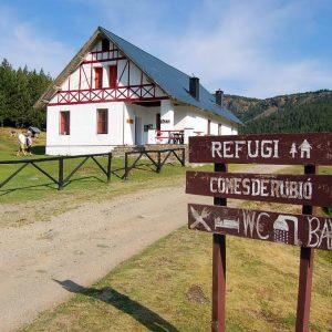 Schutzhütte Comes de Rubio im Alt Pirineu