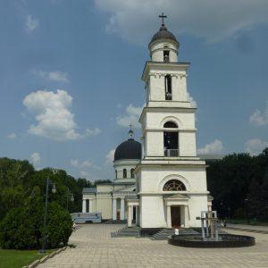 Kirchturm in Chisinau