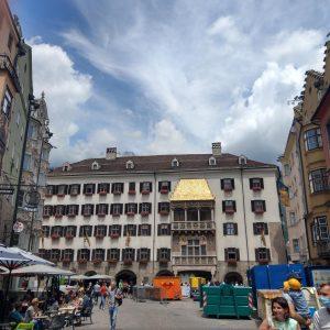 Altstadt Innsbruck mit dem Goldenen Dachl