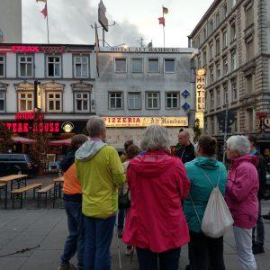 tour de sens Gruppe bei der Stadtführung auf Sankt Pauli