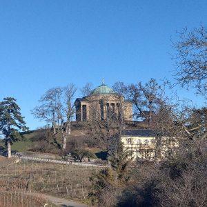 Die Rotenbergkapelle auf dem Württemberg