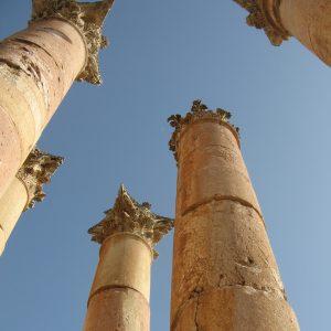 Römische Säulen von Geras