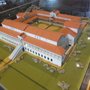 Das Modell der Römerhalle