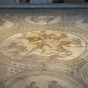 Römisches Gladiatorenmosaik