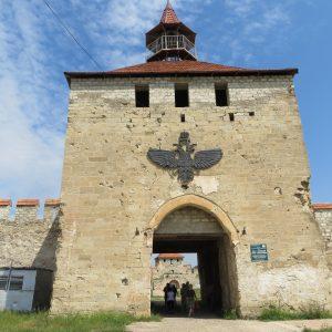 Eingangstor der Festung Benderi in Transnistrien