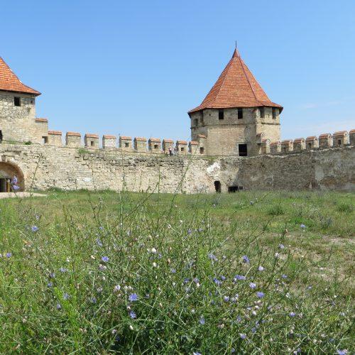 Die Festung Benderi in Transnistrien