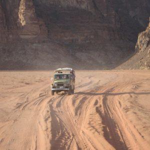 Jeepfahrt im Wadi-Rum